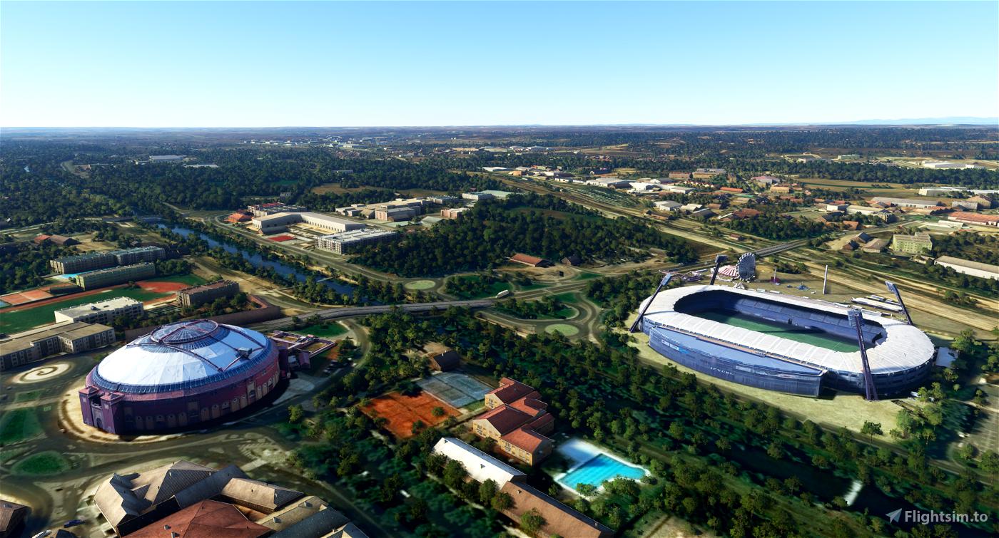 Leon City Landmarks v1, Spain Flight Simulator 2020