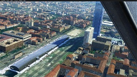 Turin Landmarks, Italy Microsoft Flight Simulator
