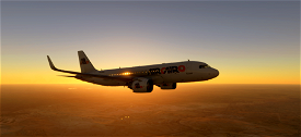 Air Cairo A320 [drag&drop] Image Flight Simulator 2020