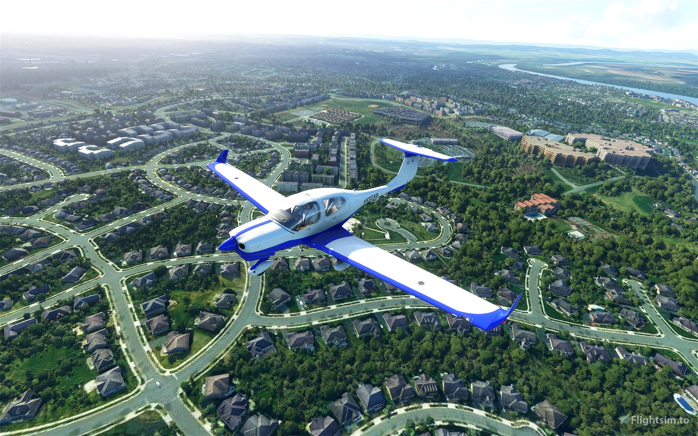 Diamond DA40-NG - Explorer (5 colors) Flight Simulator 2020