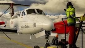 Beechcraft King Air350 Loganair Image Flight Simulator 2020
