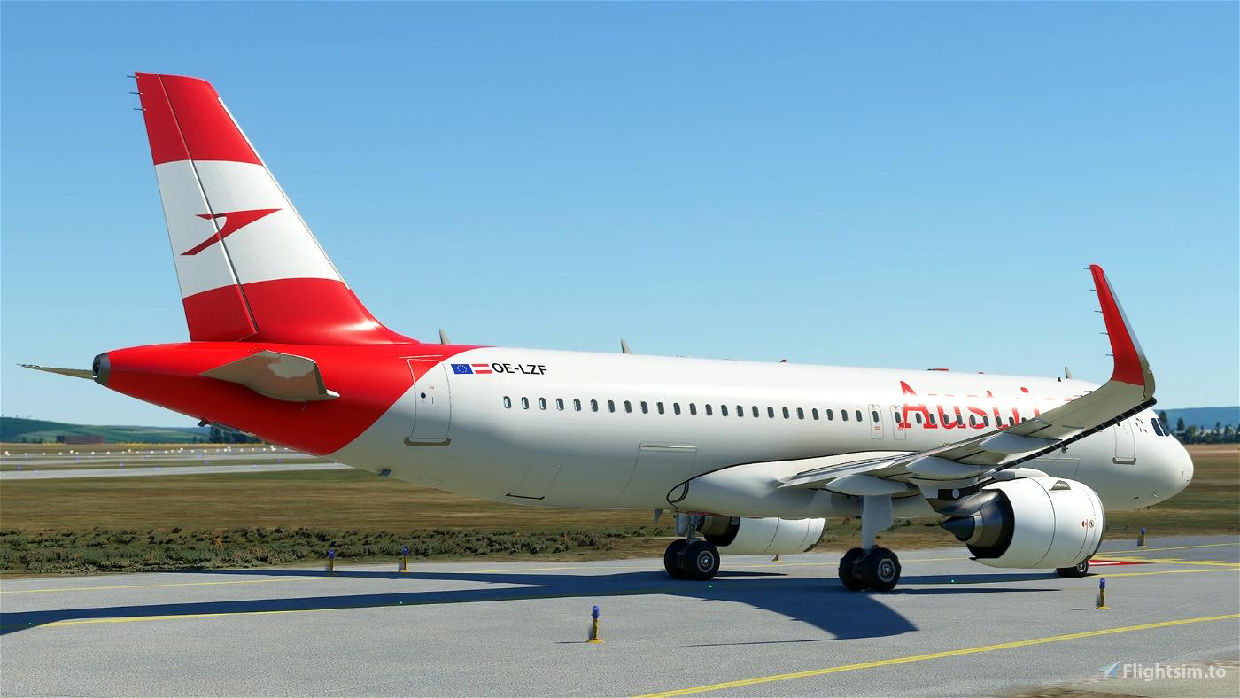 Austrian OE-LZF (Version 2020 - 4K) Flight Simulator 2020