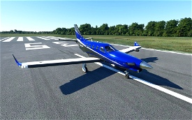 Daher TBM 930 Metallic Paint (6 colors) Microsoft Flight Simulator