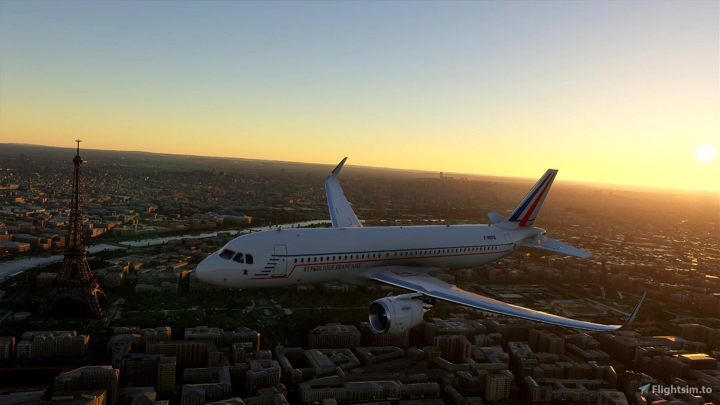 French Republic  Flight Simulator 2020