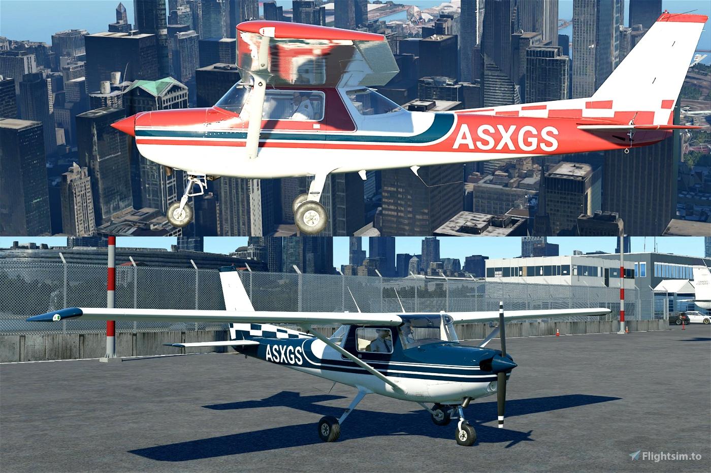 Custom Cessna 152 Liveries V1.3 Flight Simulator 2020