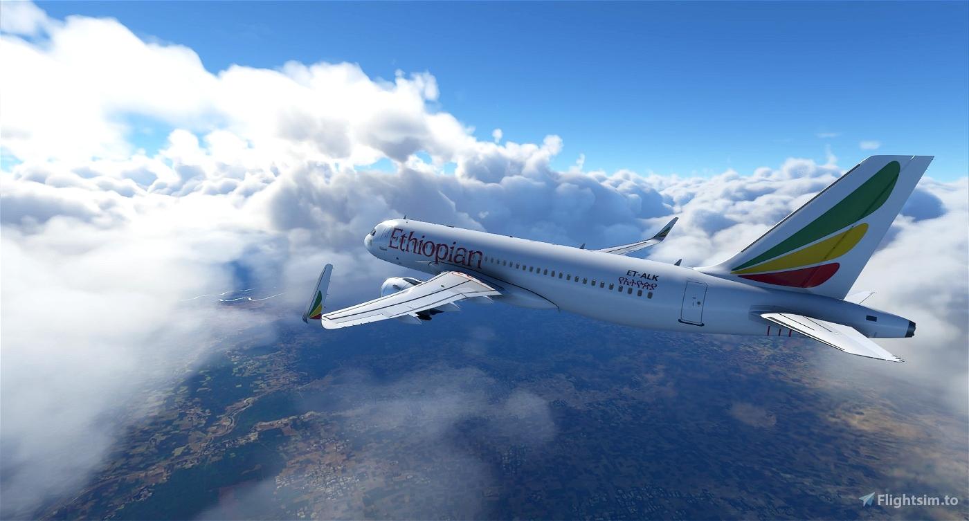 A320 Ethiopian Airlines | 4K