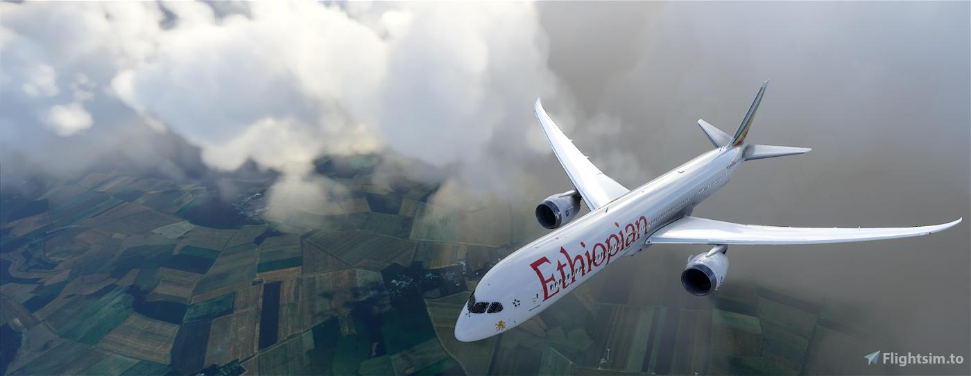 B787 Ethiopian Airlines | 4K