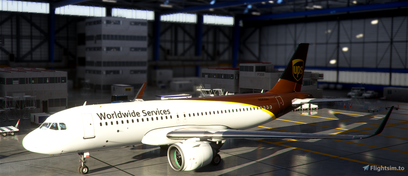 A320neo United Parcel Service