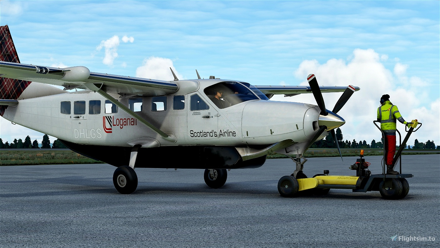 Cessna 208B Grand Caravan LoganAir