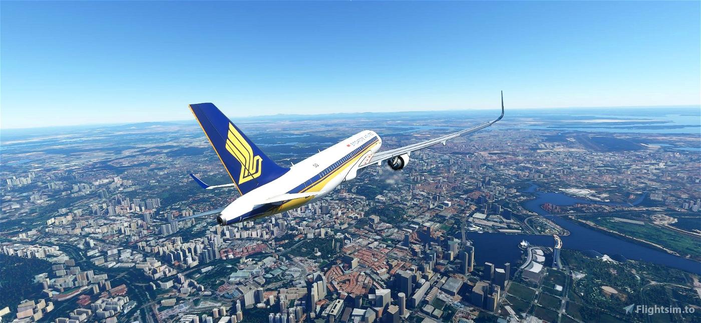A320 Singapore Airlines Flight Simulator 2020