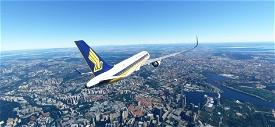 A320 Singapore Airlines Image Flight Simulator 2020