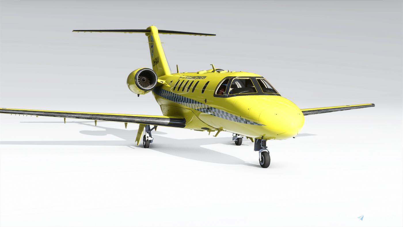 Luftambulanse Cessna CJ4 Flight Simulator 2020