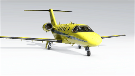 Luftambulanse Cessna CJ4 Image Flight Simulator 2020