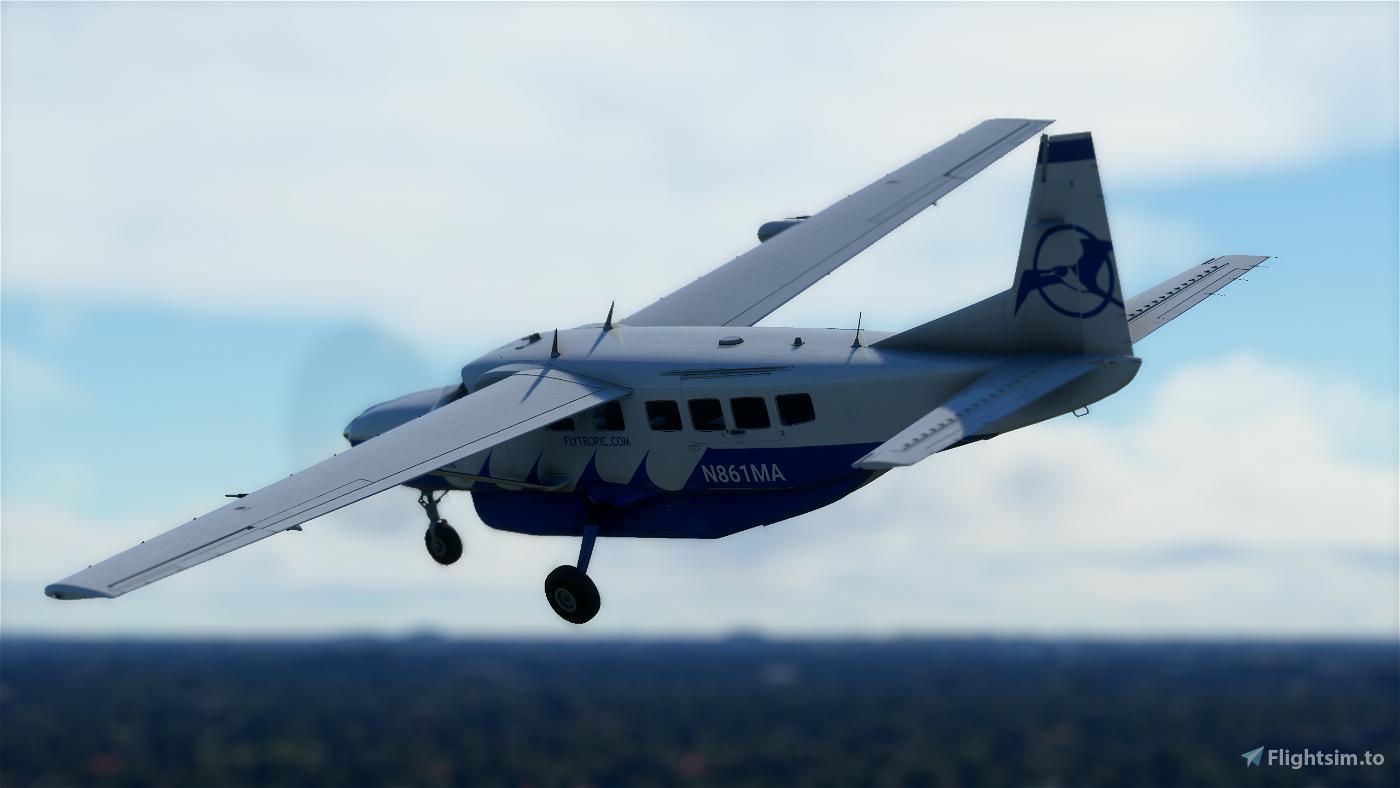 Tropic Air Cessna 208b Grand Caravan EX Livery