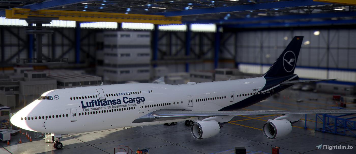 747-800 Lufthansa Cargo