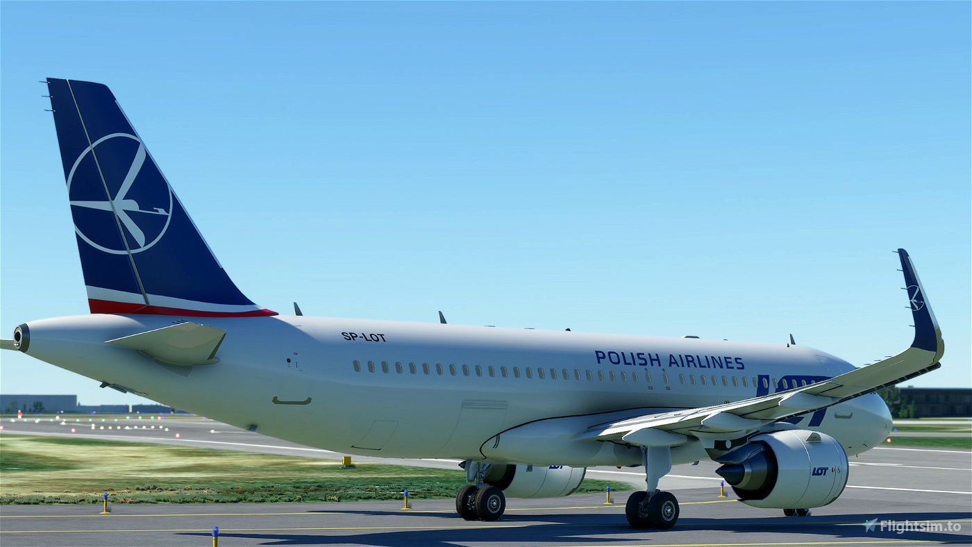 Polish Airlines (LOT) A320 (4K - High-Res)