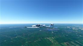 KLM DA62 Image Flight Simulator 2020