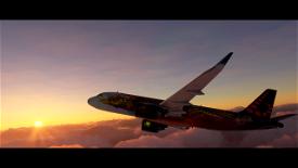 A320NEO Tomorrowland Amare Edition 4k (Drag&Drop) Image Flight Simulator 2020