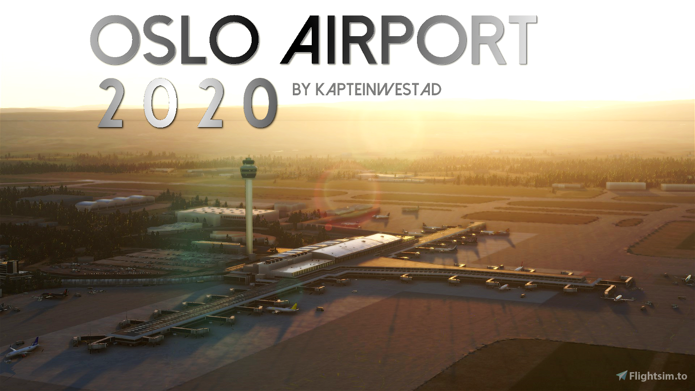 Oslo Airport 2020 (ENGM) Flight Simulator 2020