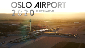 Oslo Airport 2020 (ENGM) Image Flight Simulator 2020
