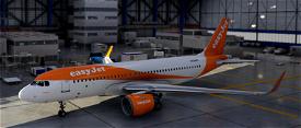 Easy Jet A320 Image Flight Simulator 2020