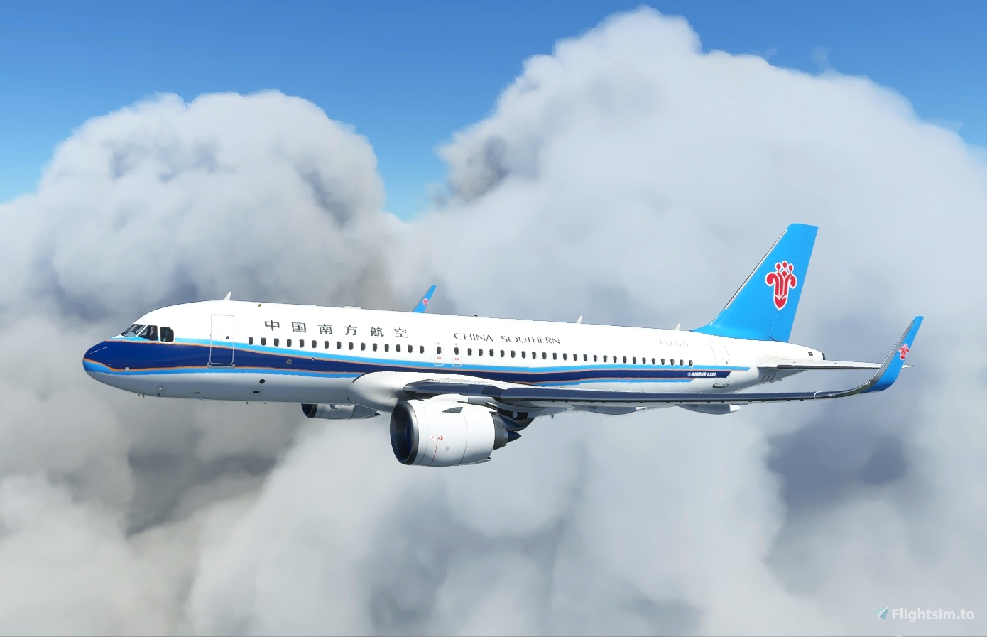 CSN A320neo Flight Simulator 2020