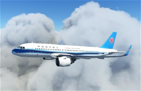CSN A320neo Image Flight Simulator 2020