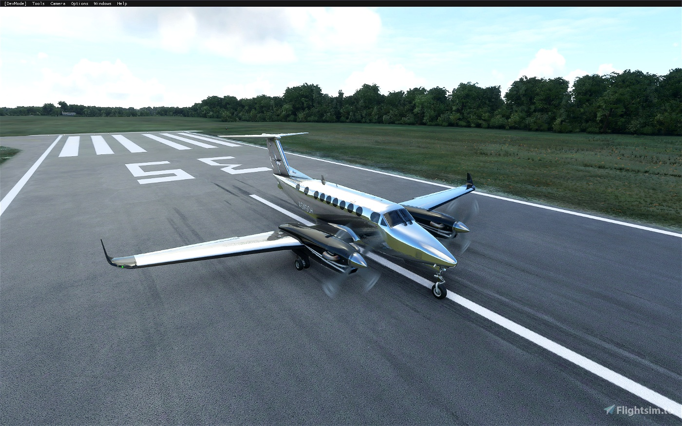 King Air 350i Metals and Alternate Color Liveries (8 total) Image Flight Simulator 2020