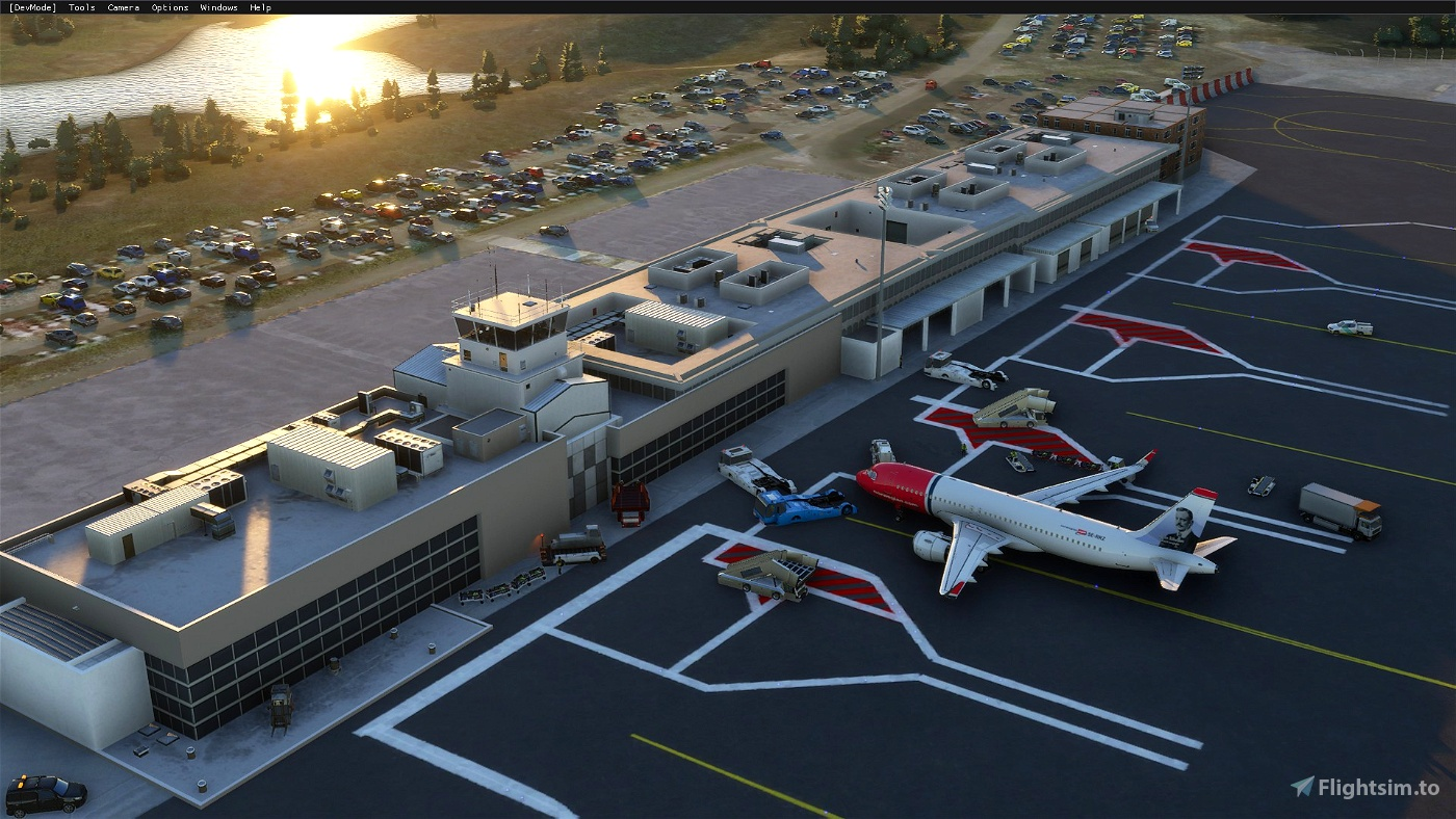 Haugesund Airport [ENHD] Image Flight Simulator 2020