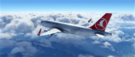 Turkish Airliners A320 Liveries 4K Textures, Detailed Livery. Image Flight Simulator 2020