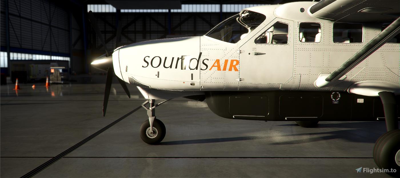 New Zealand Sounds Air Caravan 208