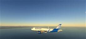 Ellinair Airline 4k Image Flight Simulator 2020
