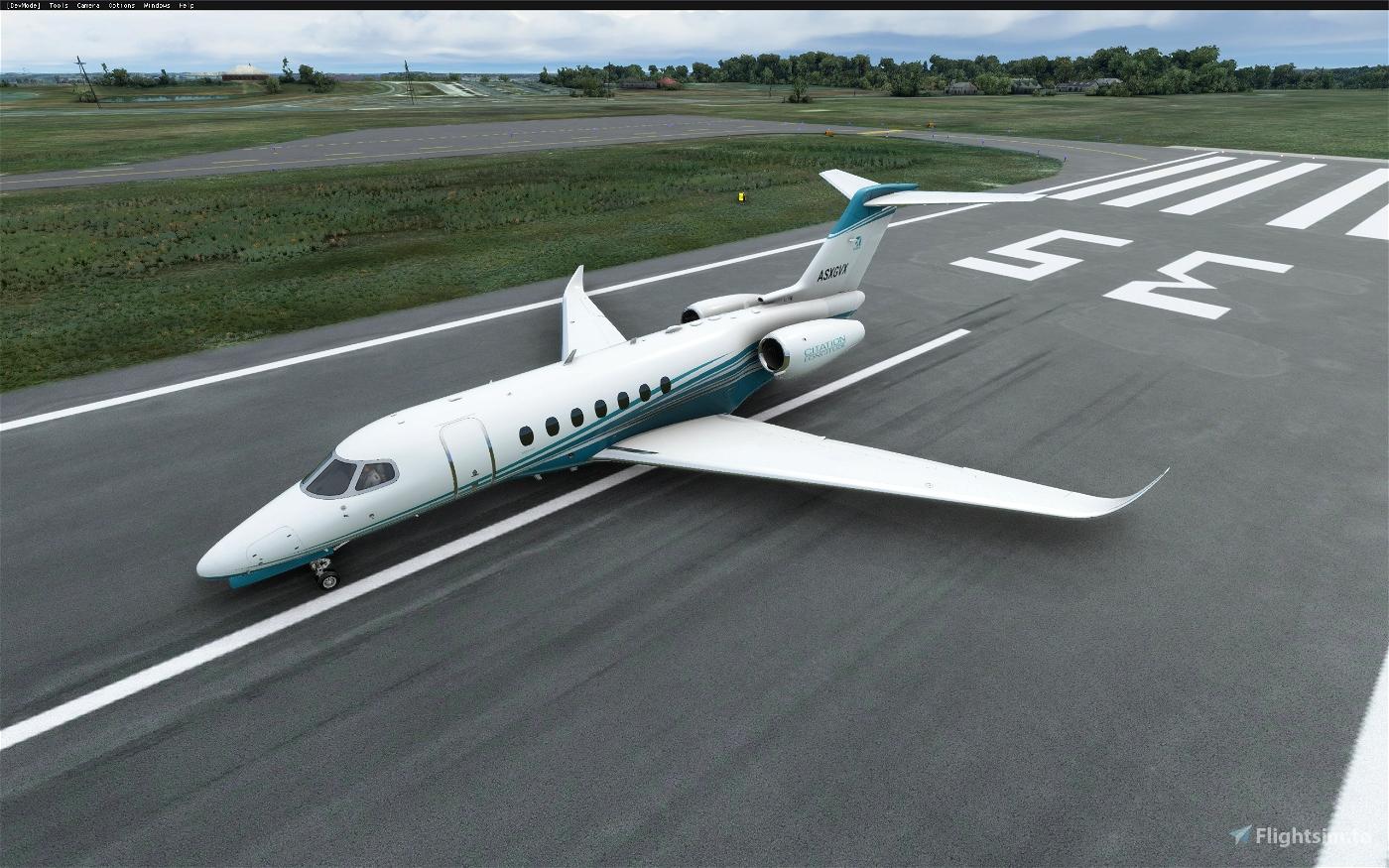 Cessna Longitude alternate color stripes (8 colors)