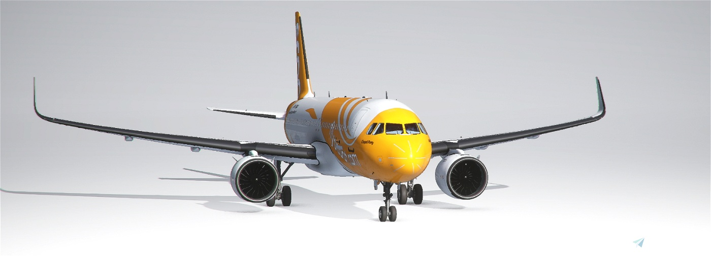 A320neo Scoot Airlines Flight Simulator 2020