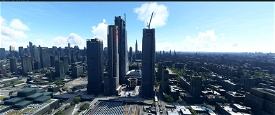 Hudson Yards, New York Microsoft Flight Simulator