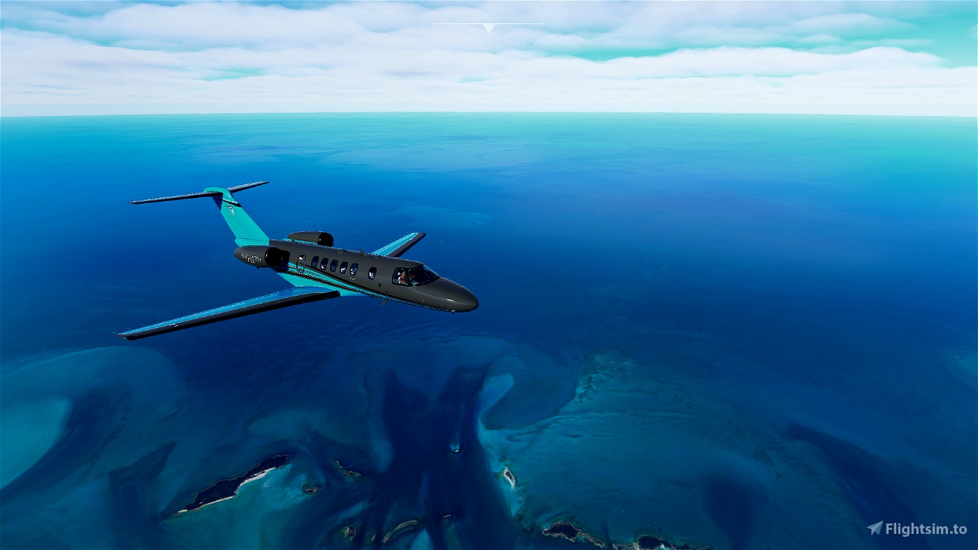 Citation CJ4 Grey And Blue (with custom Interior) UPDATED