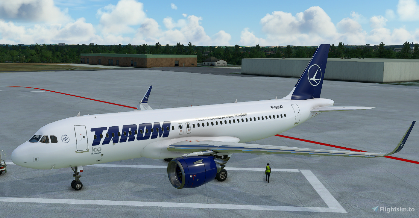TAROM | Fictional | 4K - A320