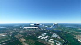 KLM DA40 NG Image Flight Simulator 2020