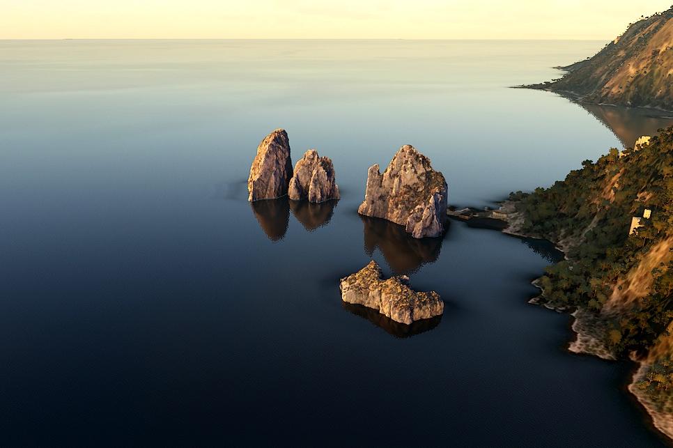 The Faraglioni (Sea Stacks), Capri, Italy