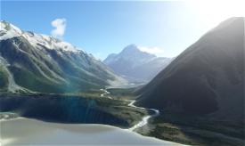Aoraki/Mt Cook and Mt Tasman Image Flight Simulator 2020