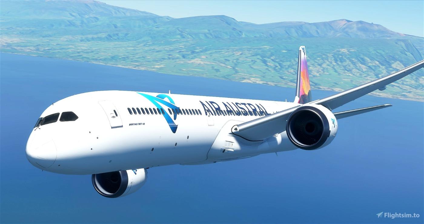 Air Austral 787-10 [UpDate] Flight Simulator 2020