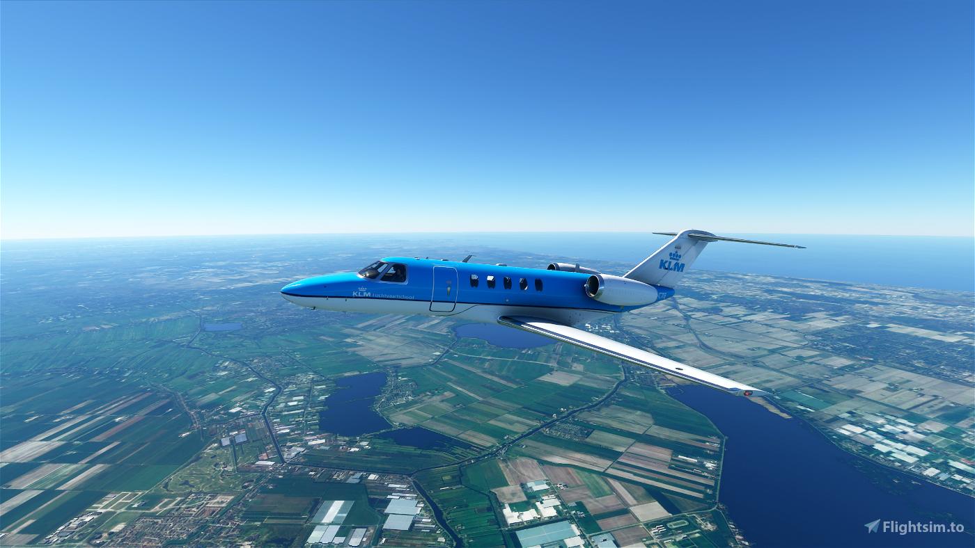 KLM CJ4