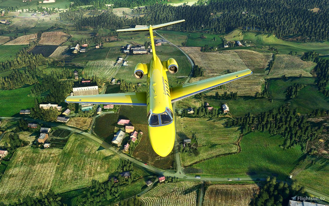 Luftambulanse Cessna CJ4