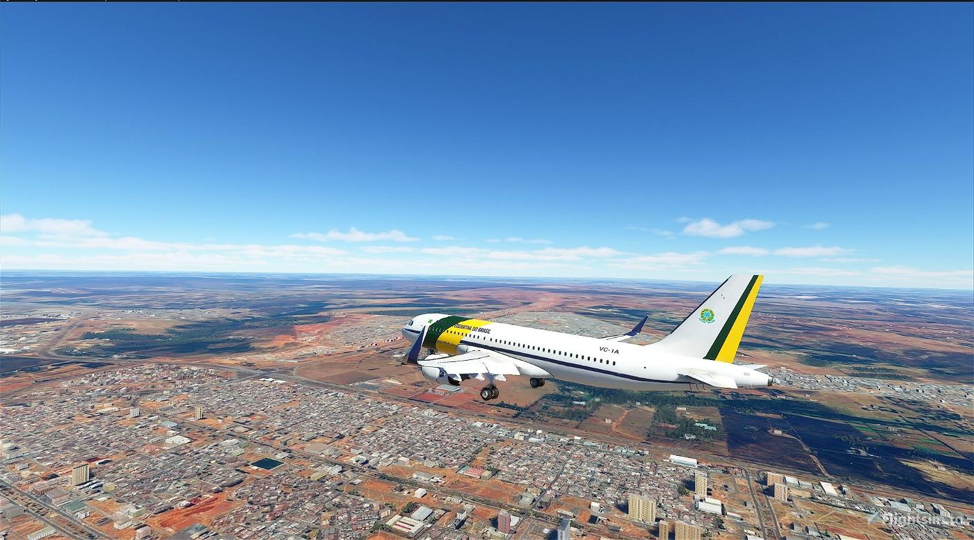 Brazilian Air Force One Flight Simulator 2020