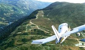 Altisurface  LF0652 Cipières Image Flight Simulator 2020