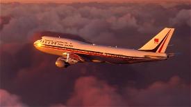B747 China Airlines Retro Livery Image Flight Simulator 2020