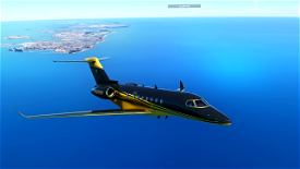 Longitude Carbon and Gold Image Flight Simulator 2020