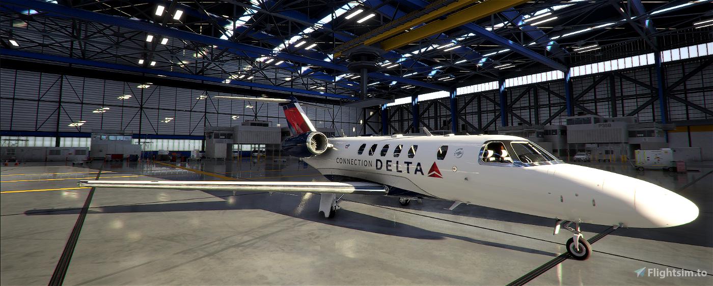 Delta  Connection CJ4 Flight Simulator 2020