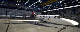 Delta  Connection CJ4 Image Flight Simulator 2020
