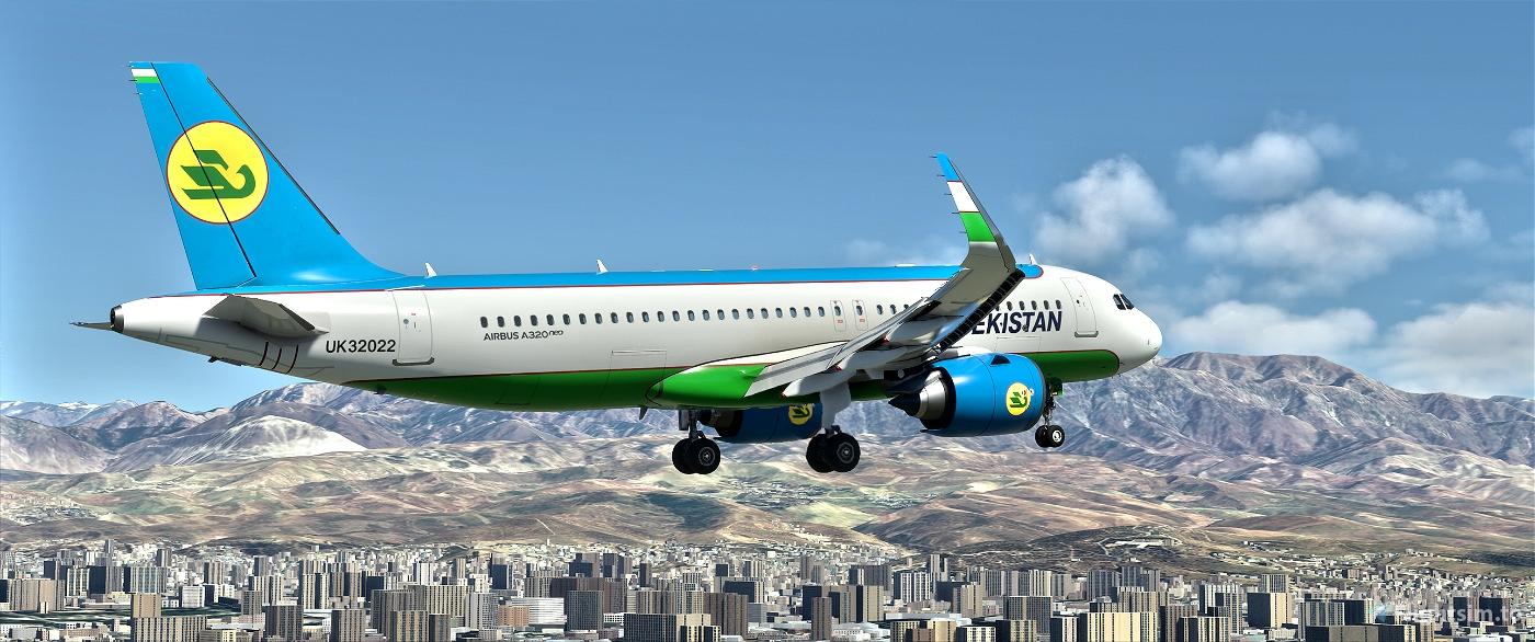 Uzbekistan Airways UK32022